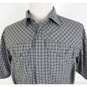 Outdoor Research XL TERMINI S/S Snap Button Shirt